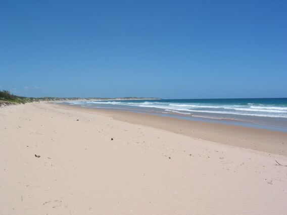 After the clouds. Tofo, Mozambique.